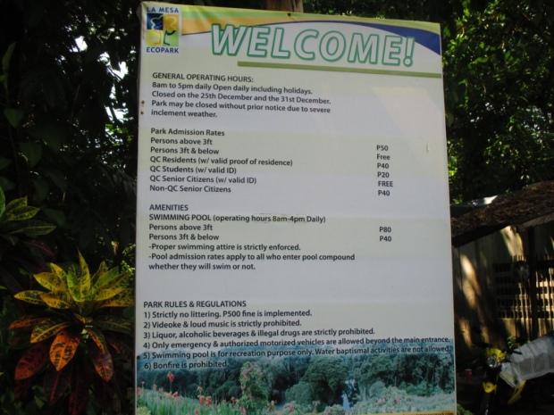 lep entrance 3 park schedule