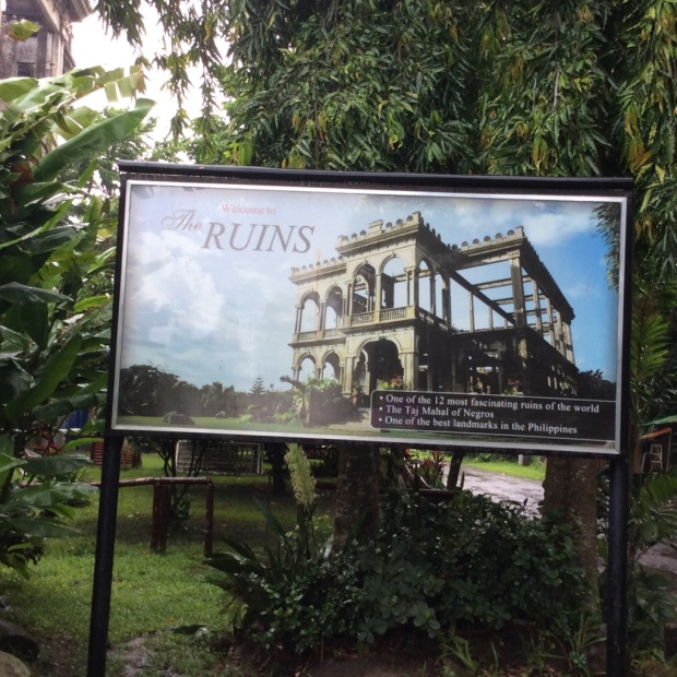 The Ruins Signage