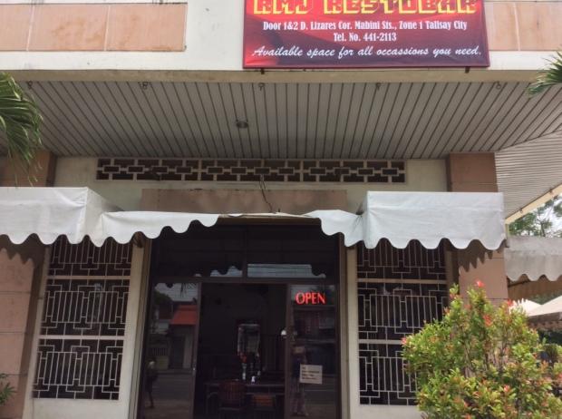 Restaurant in Talisay, Negros Occidental