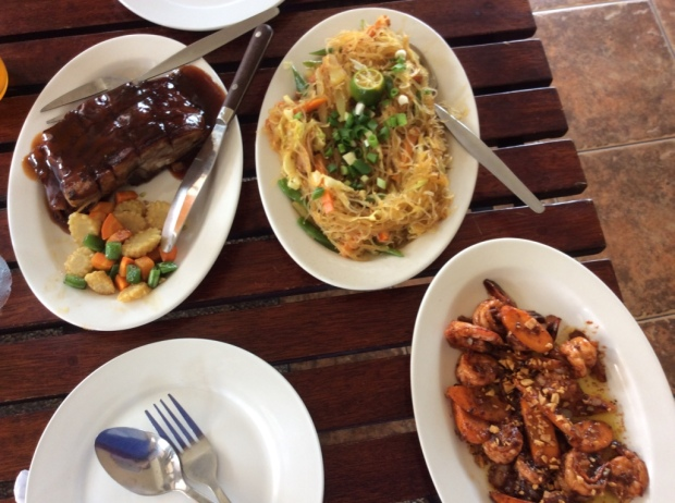 Lunch in Talisay, Negros Occidental