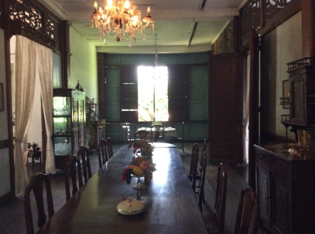 Balay Negrense Dining Room