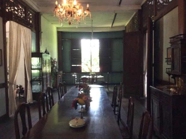 Balay Negrense Dining Room