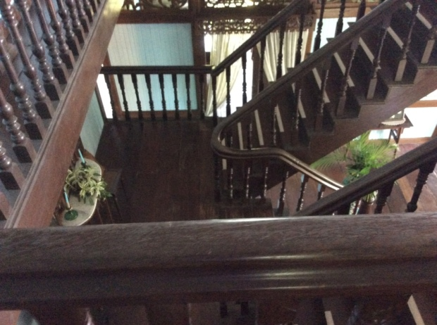 Balay Negrense Stairs to Second Floor
