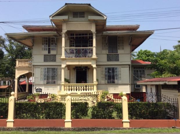 Hofilena House Front Facade