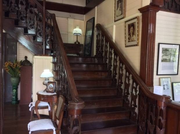 Hofilena House Stairs to Second Level