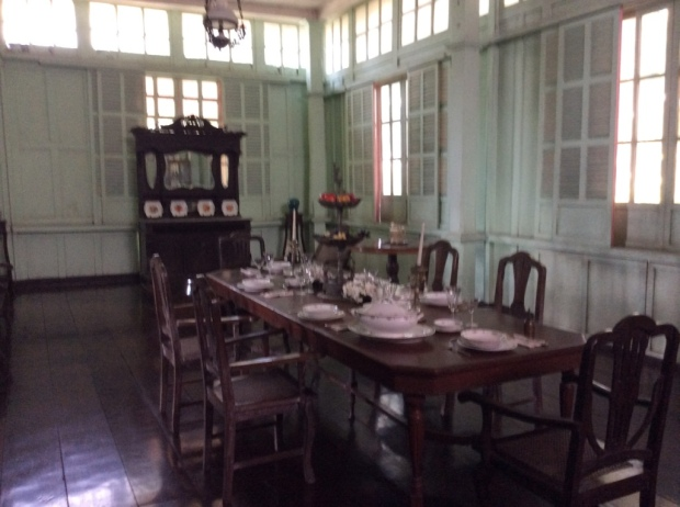 Jalandoni House Dining Room