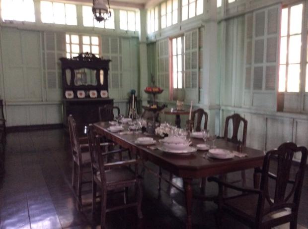 Jalandoni House Dining Room
